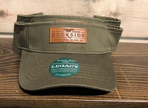 Legacy Relaxed Twill Visor - Army Green