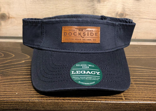 Legacy Relaxed Twill Visor - Navy