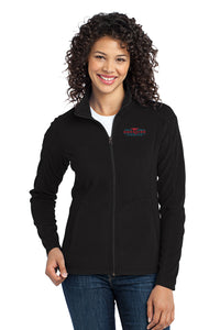 Dockside Ladies Fleece Zip Up- Fuschia