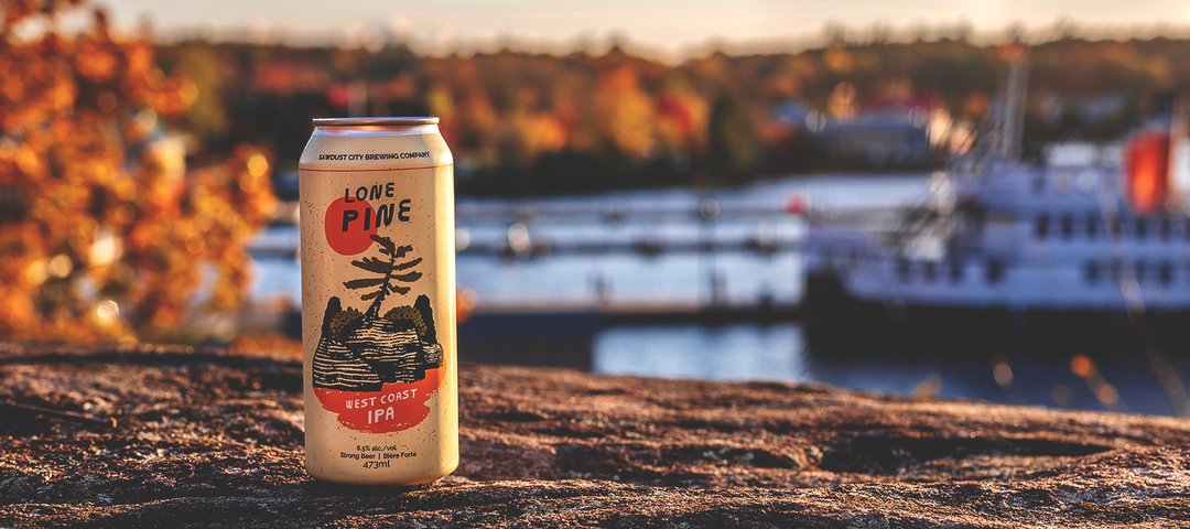 Lone Pine IPA's New Look