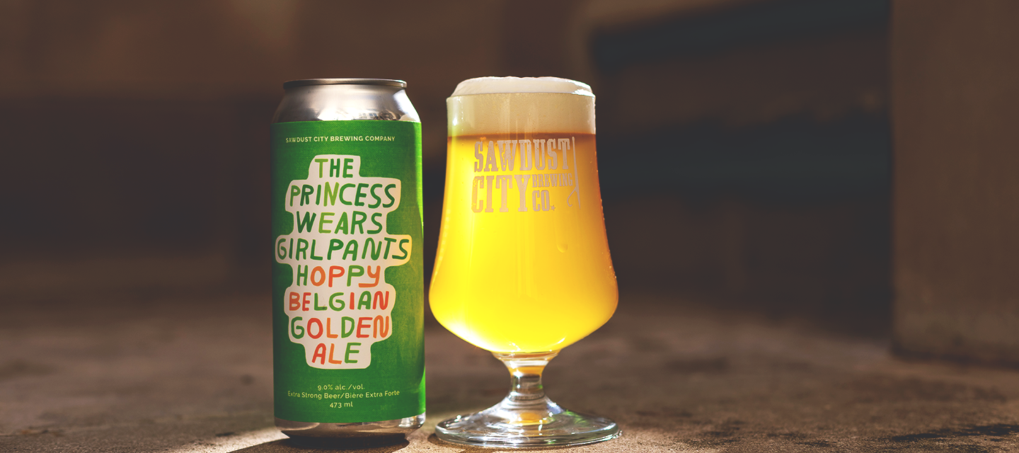 Princess Wears Girlpants Hoppy Belgian Golden Ale