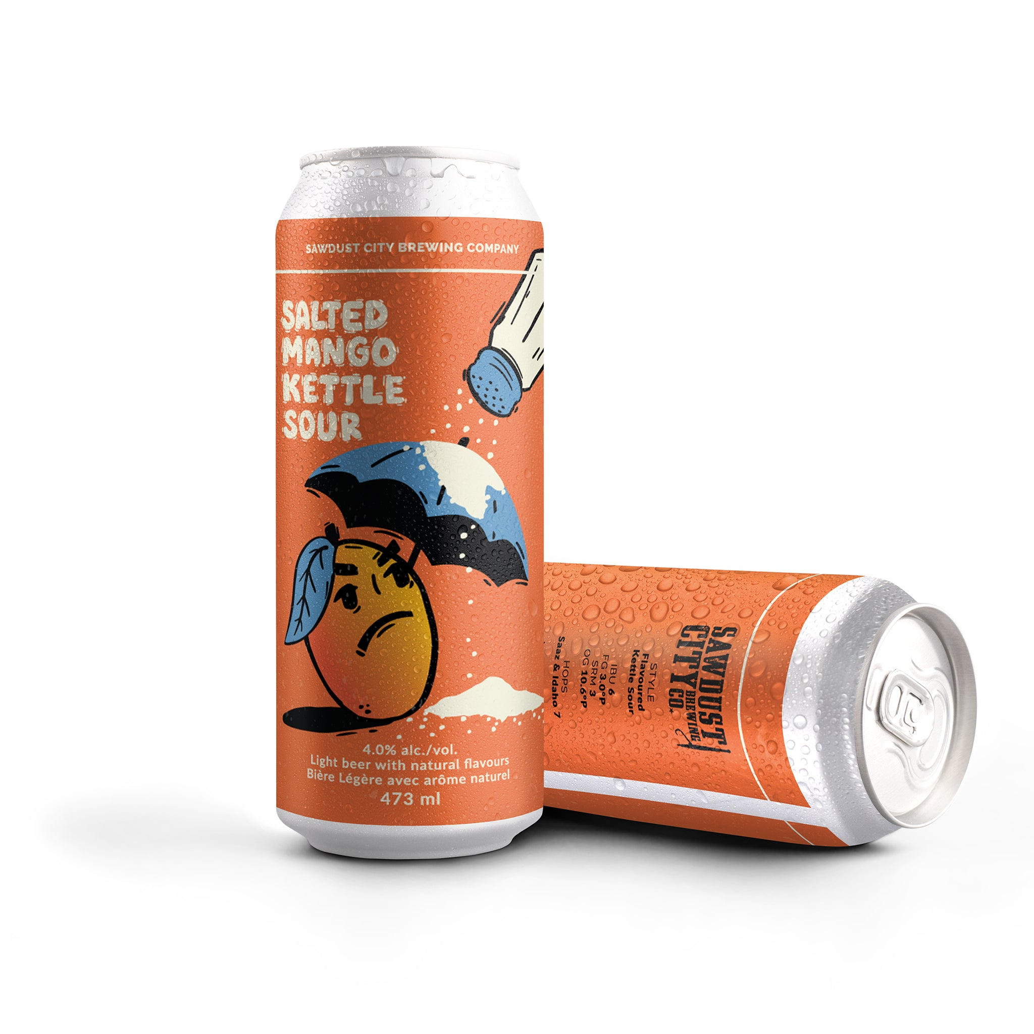 Salted Mango Kettle Sour