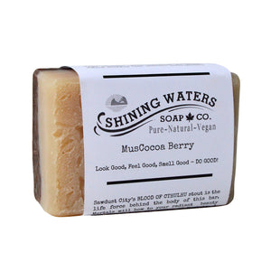 Shining Waters Soap Co - MusCocoa Berry