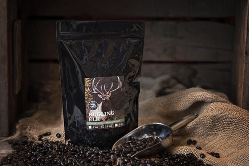 Hunter's Blend - Medium Roast: Bugling Elk 12oz