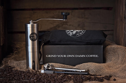 Ole Smokes Adjustable Manual Burr Grinder