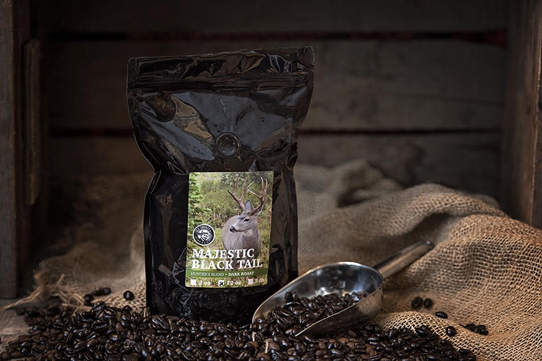 Hunter's Blend - Dark Roast: Majestic Black Tail 12oz