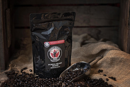 Purple Heart Blend Wounded Warriors Medium Roast 12oz