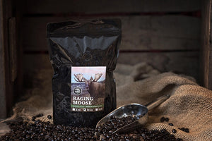 Hunter's Blend - Medium Dark Roast: Raging Moose 12oz