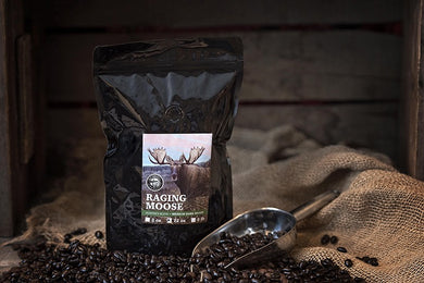 Hunter's Blend - Medium Dark Roast: Raging Moose 5lbs