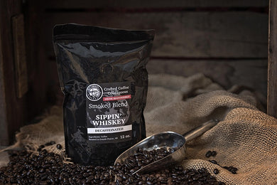 Smoked Blend - Sippin' Whiskey Decaffeinated 12oz