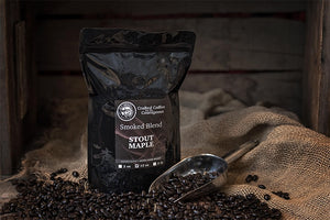 Smoked Roasted Coffee - Stout Maple 5 lbs