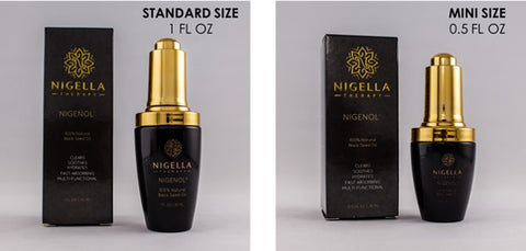 Nigenol: Standard Size and Mini