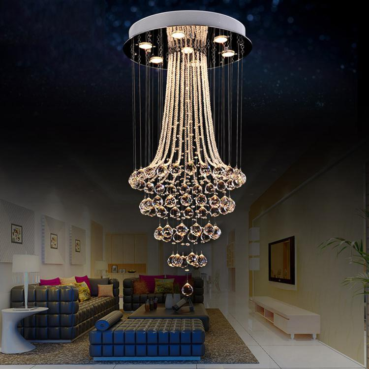 7-light Crystal Chandelier L1263