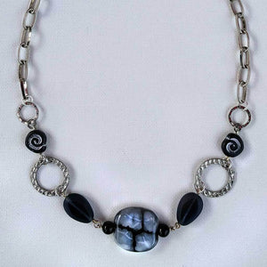 Shades of Grey Links Necklace