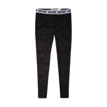 LADIES' LEGGINGS ORNAMENTS - BLACK