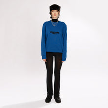 GLITCH CARRIER SWEATER - ROYAL