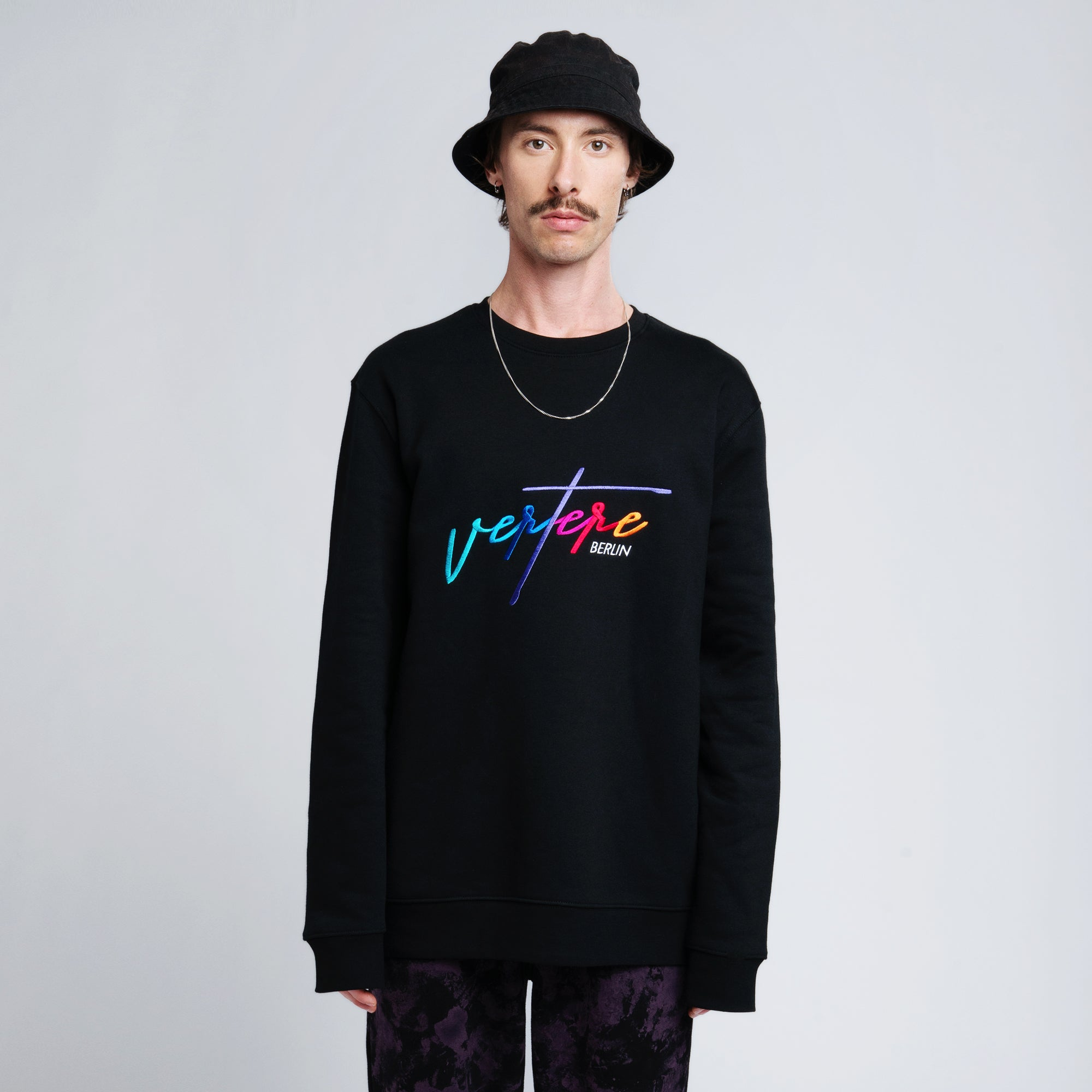 COLORIZE SWEATER - BLACK