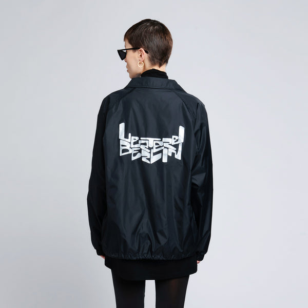SPACE LOGO JACKET - BLACK