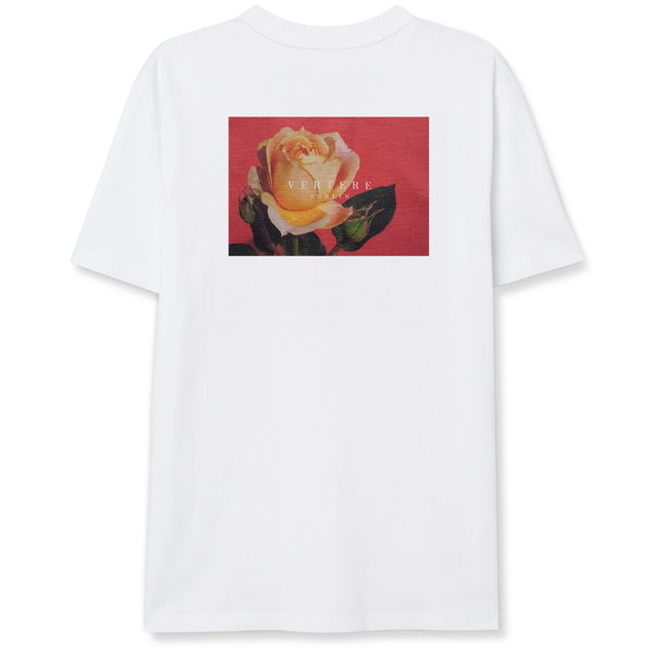 VINTAGE ROSE T-SHIRT - WHITE