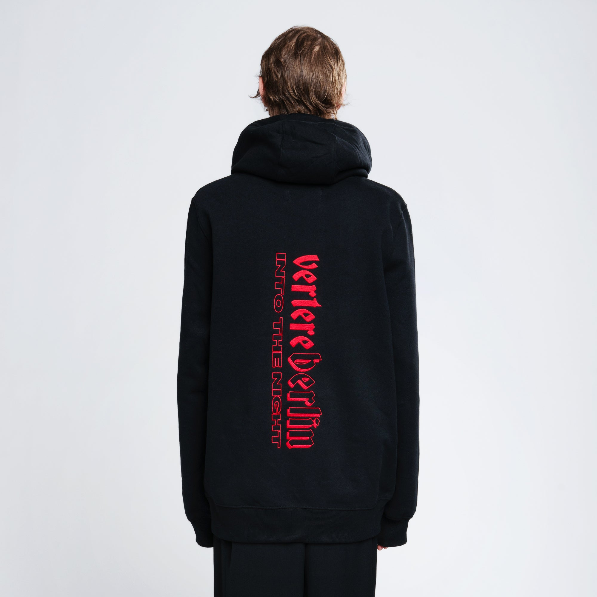 INTO THE NIGHT HOODIE - BLACK