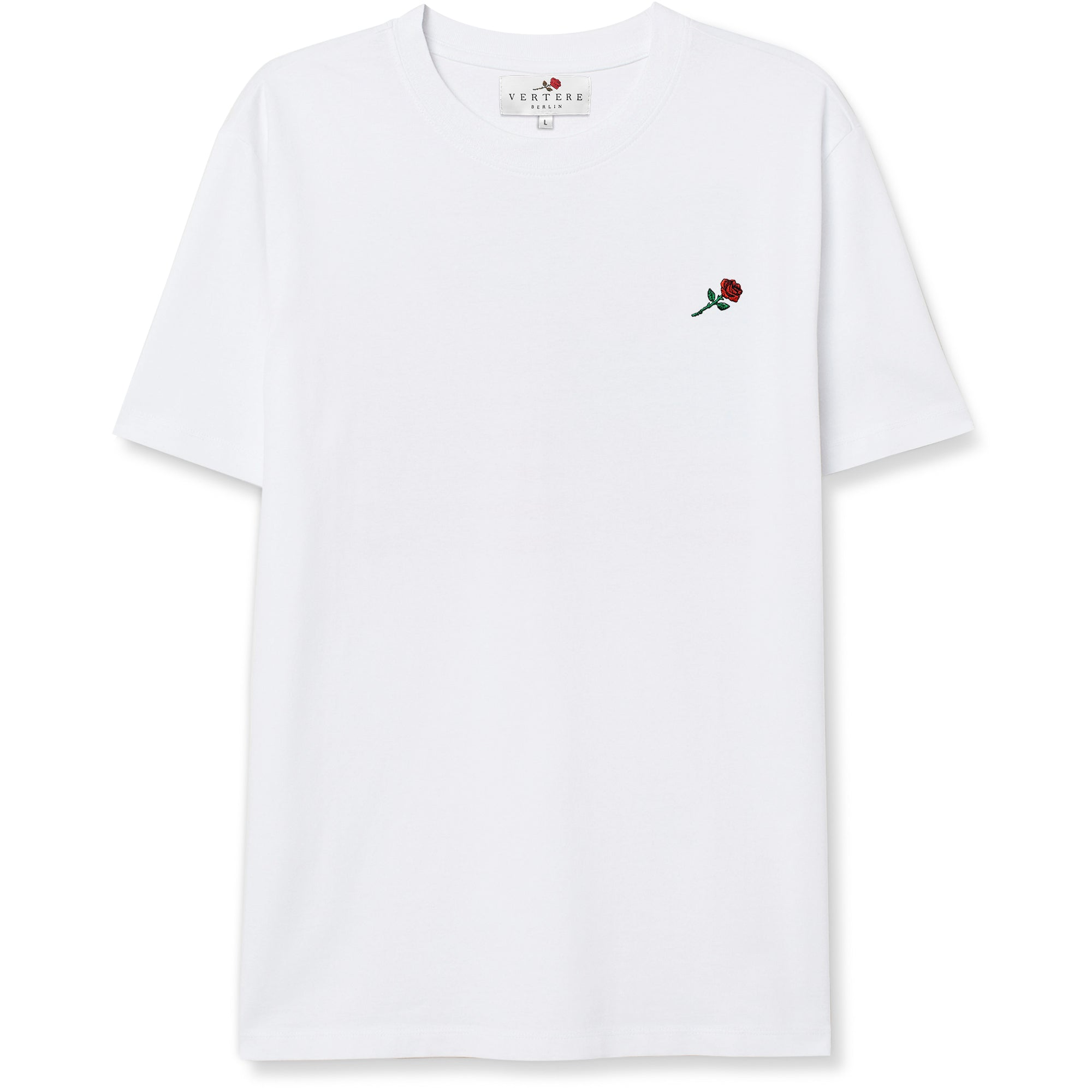 ROSE T-SHIRT - WHITE