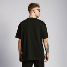 MONOCHROME OVERSIZE T-SHIRT - BLACK