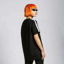 TAPE T-SHIRT - BLACK
