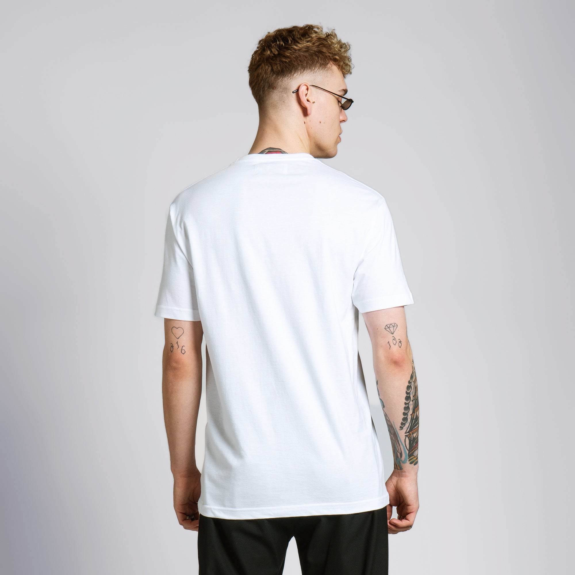 COLORIZE T-SHIRT - WHITE