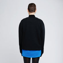 GLITCH CARRIER SWEATER - BLACK
