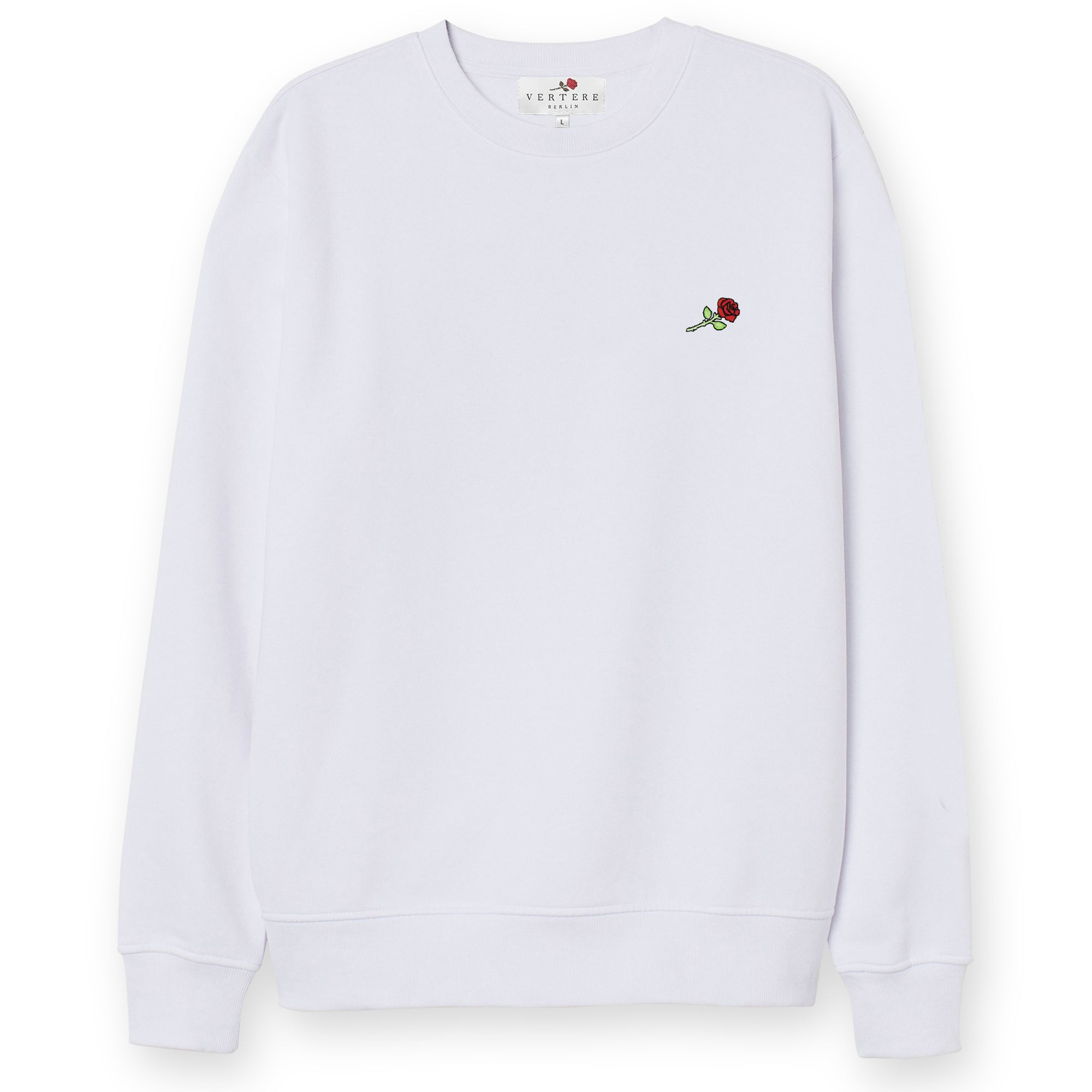SECOND HAND EMOTION SWEATER - WHITE