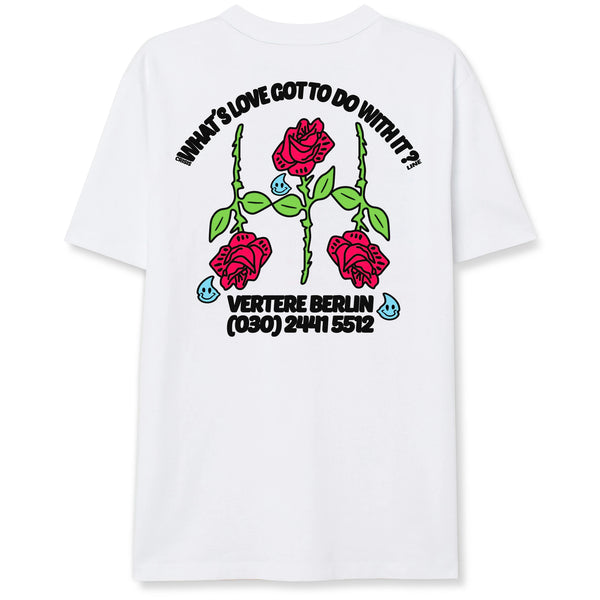 SECOND HAND EMOTION T-SHIRT - WHITE