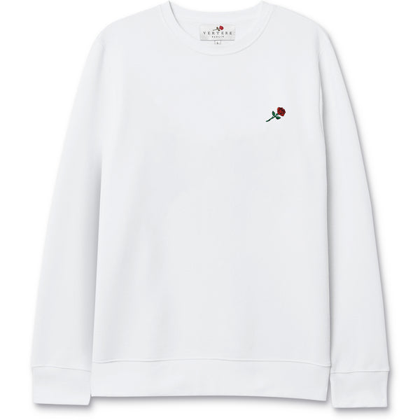 ROSE SWEATER - WHITE