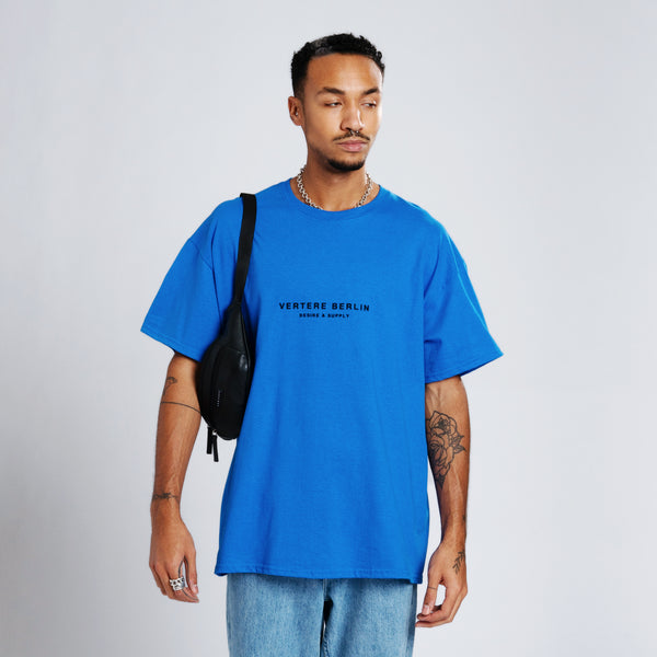 DESIRE & SUPPLY T-SHIRT - ROYAL