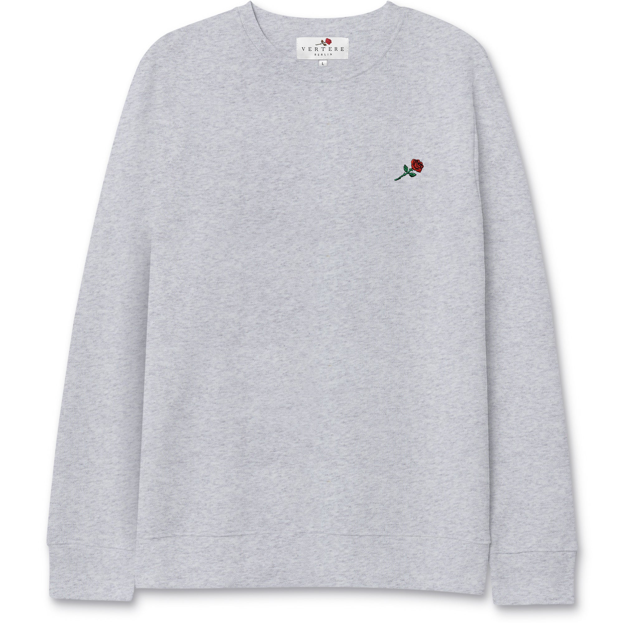 ROSE SWEATER - GREY MELANGE