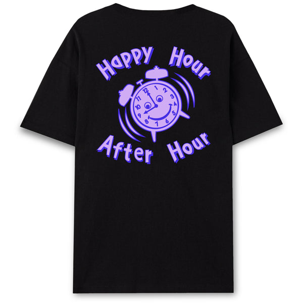 ANDHIM COLLAB T-SHIRT AFTERHOUR - BLACK