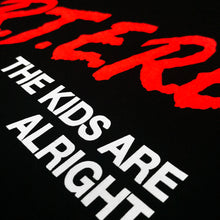 THE KIDS ARE ALRIGHT T-SHIRT - BLACK