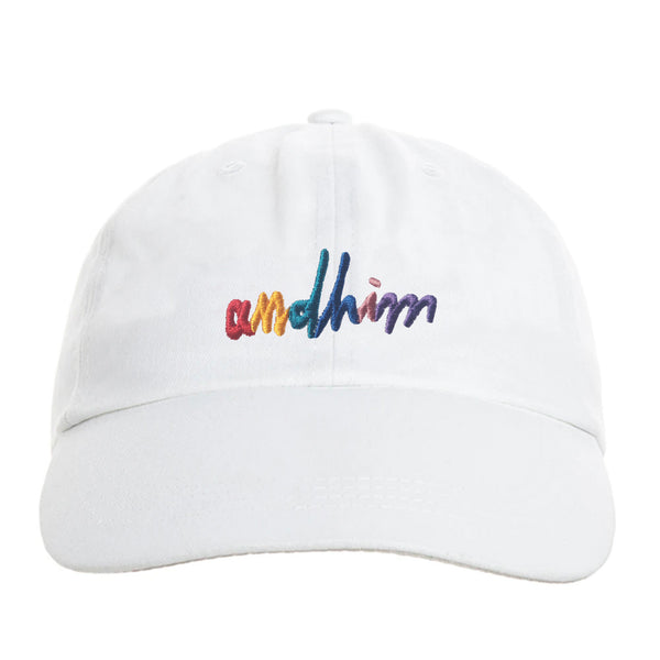 ANDHIM COLLAB CAP SIGNATURE - WHITE
