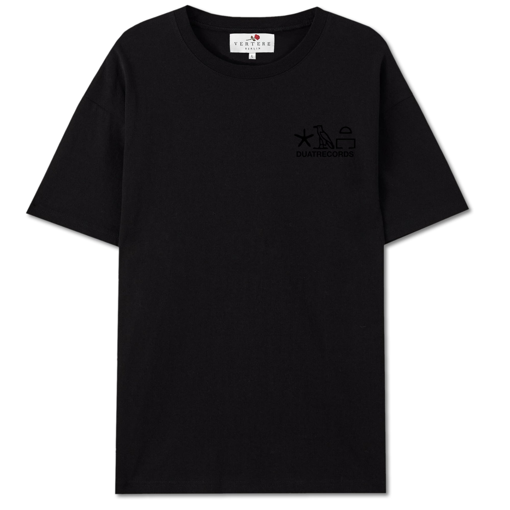 DUAT COLLAB T-SHIRT FALCON - BLACK