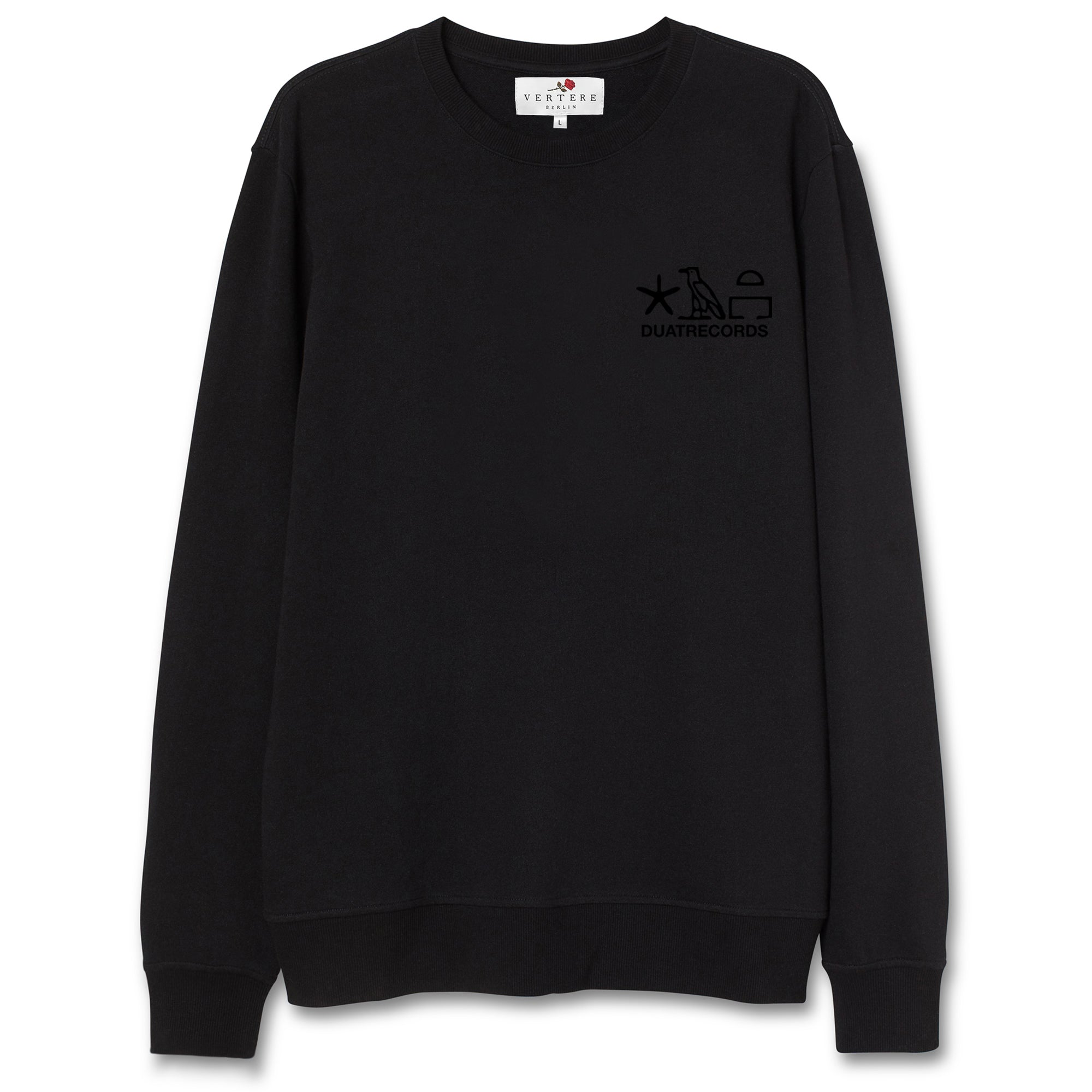 DUAT COLLAB SWEATER SCARABAEUS - BLACK
