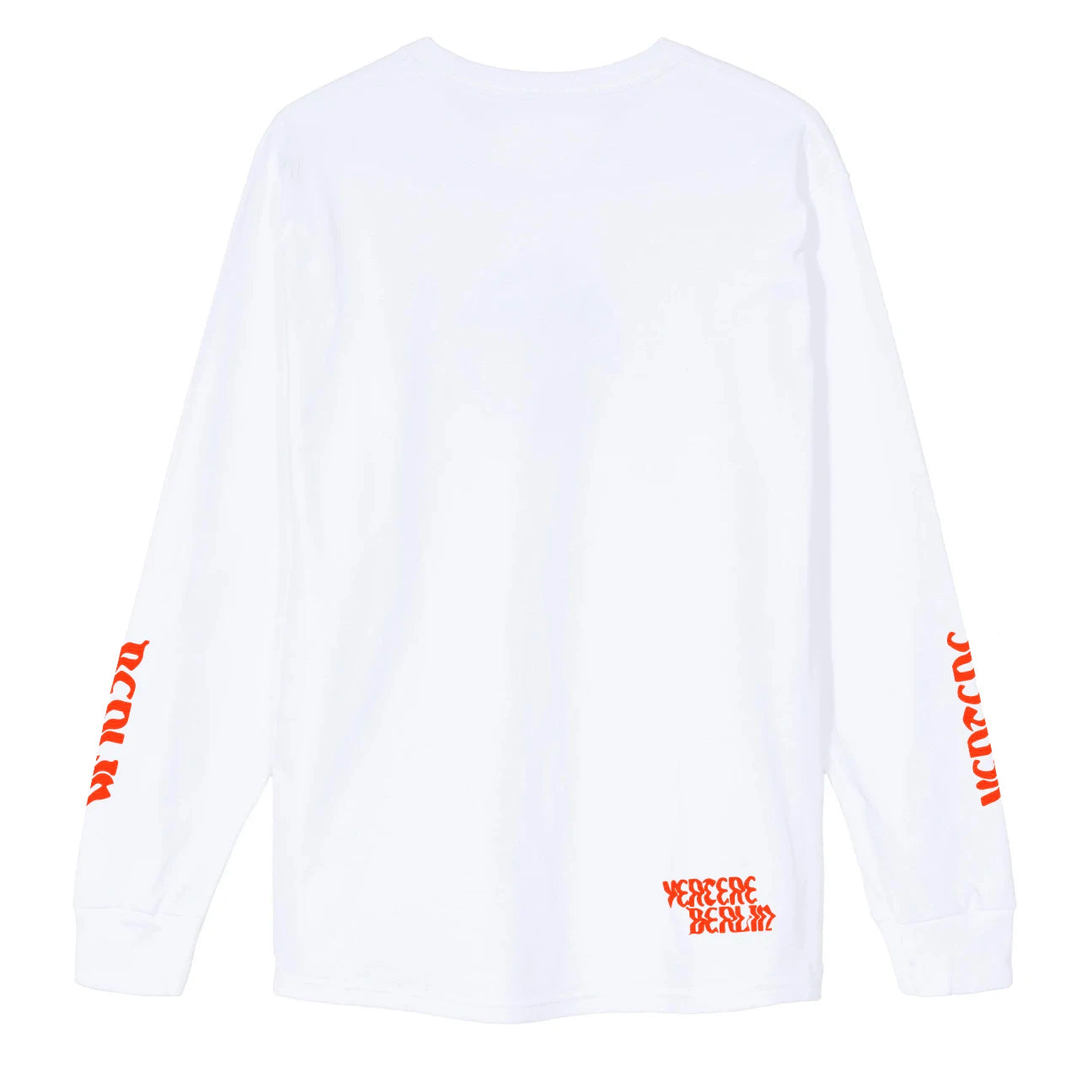 DECONSTRUCTION LONGSLEEVE - WHITE
