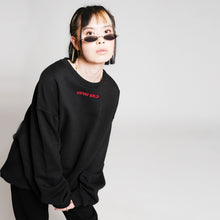 HIGH LOGO SWEATER - BLACK