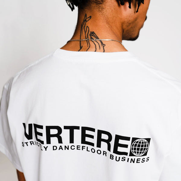 DANCEFLOOR LOGO T-SHIRT - WHITE