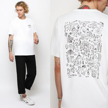 FLASH TATTOO T-SHIRT - WHITE