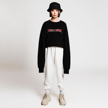 ROUGHNESS SWEATER - BLACK