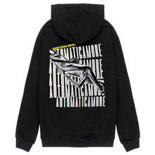 AUTOMATICAMORE HOODIE - BLACK