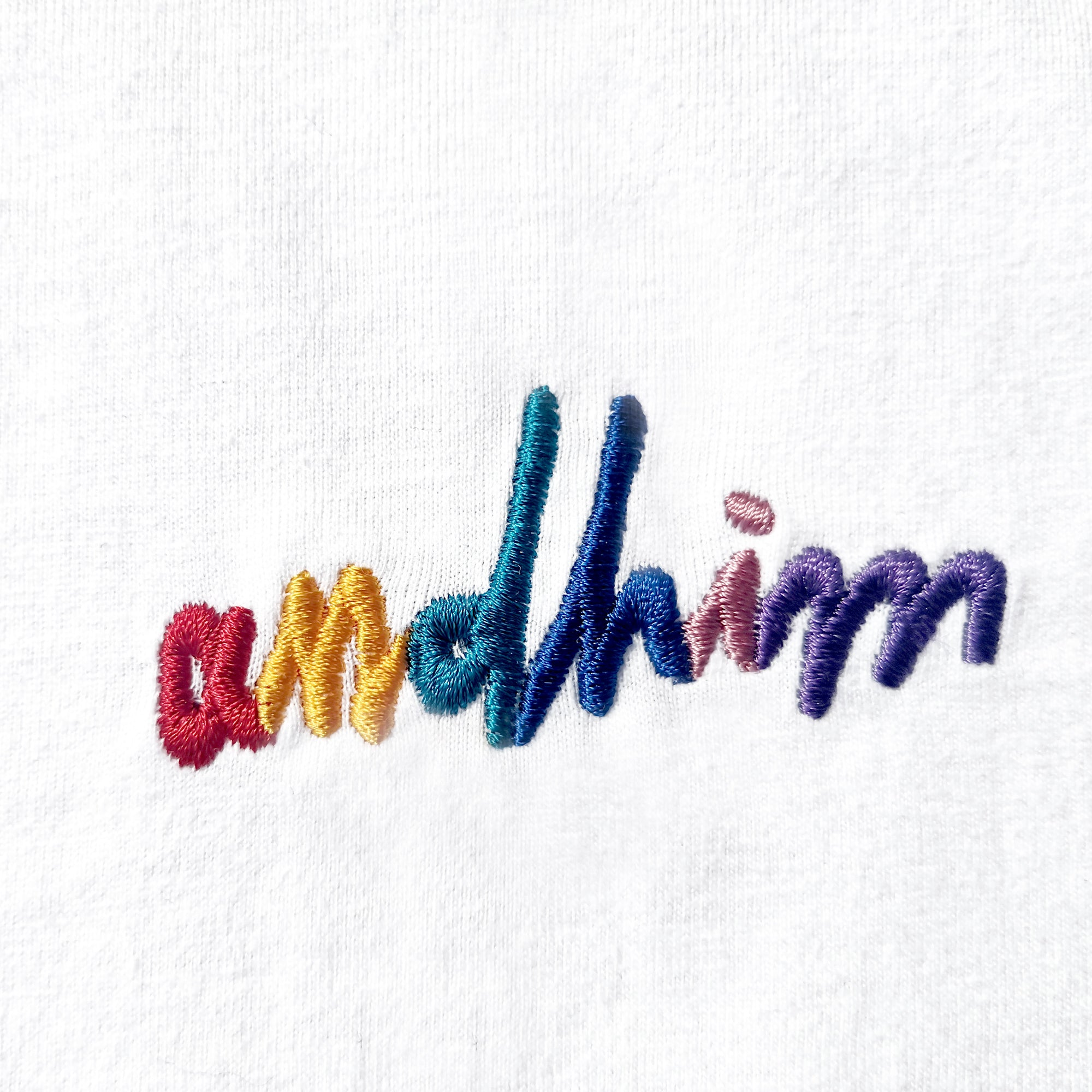 ANDHIM COLLAB T-SHIRT SIGNATURE - WHITE/MULTICOLOR