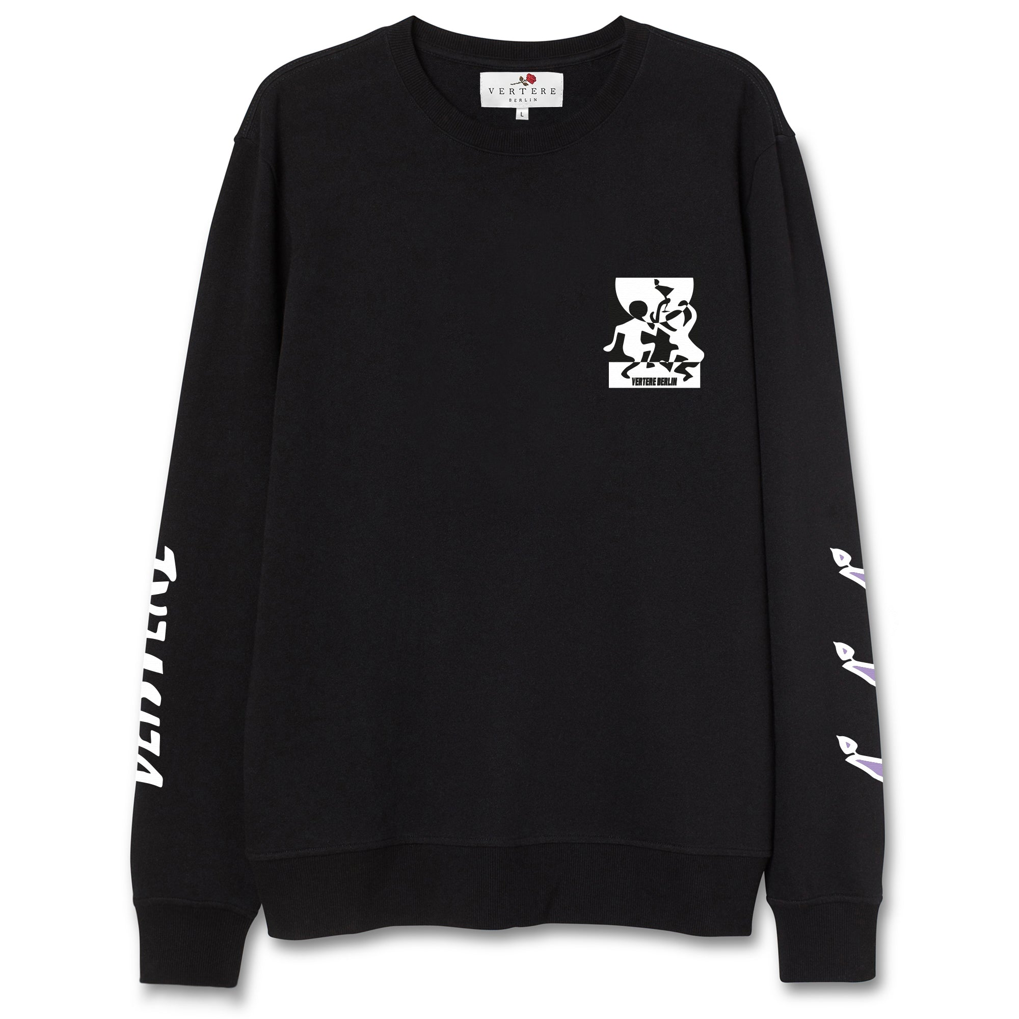 MIDNIGHT MAGIC SWEATER - BLACK