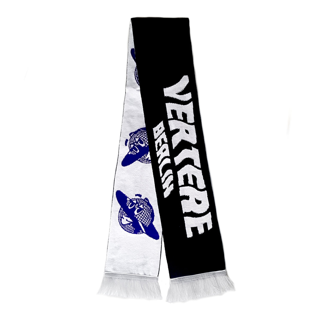 GLOBE SCARF - BLACK/WHITE