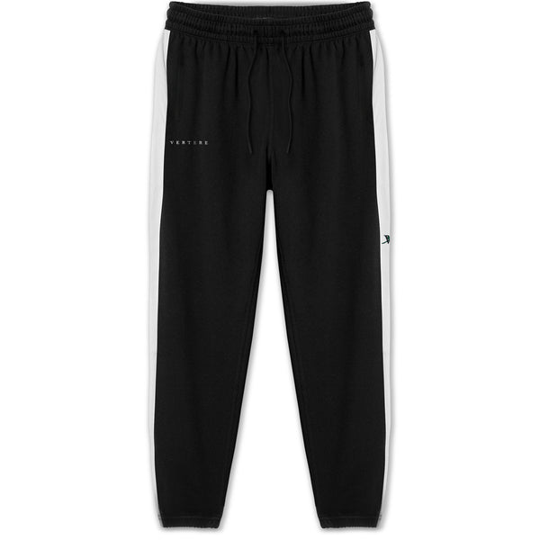 V-ROSE TRACK PANT - BLACK / WHITE