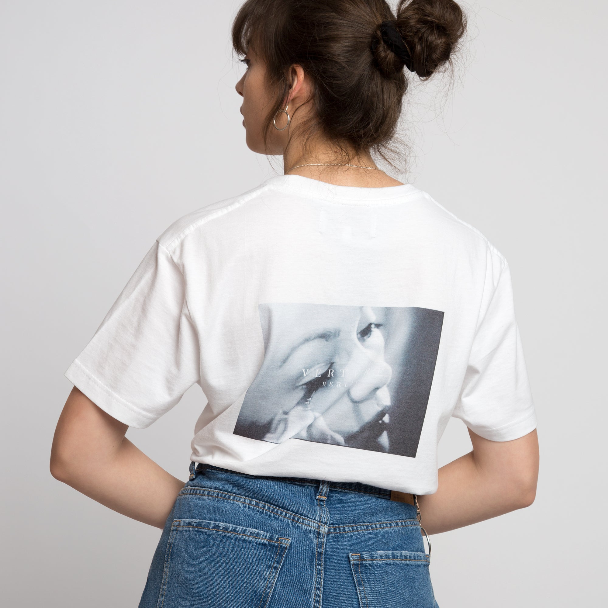 EYELASH T-SHIRT - WHITE